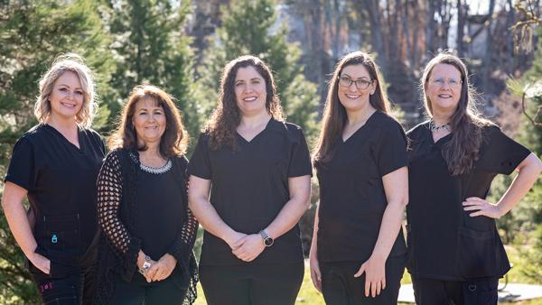 compassionate dentistry team